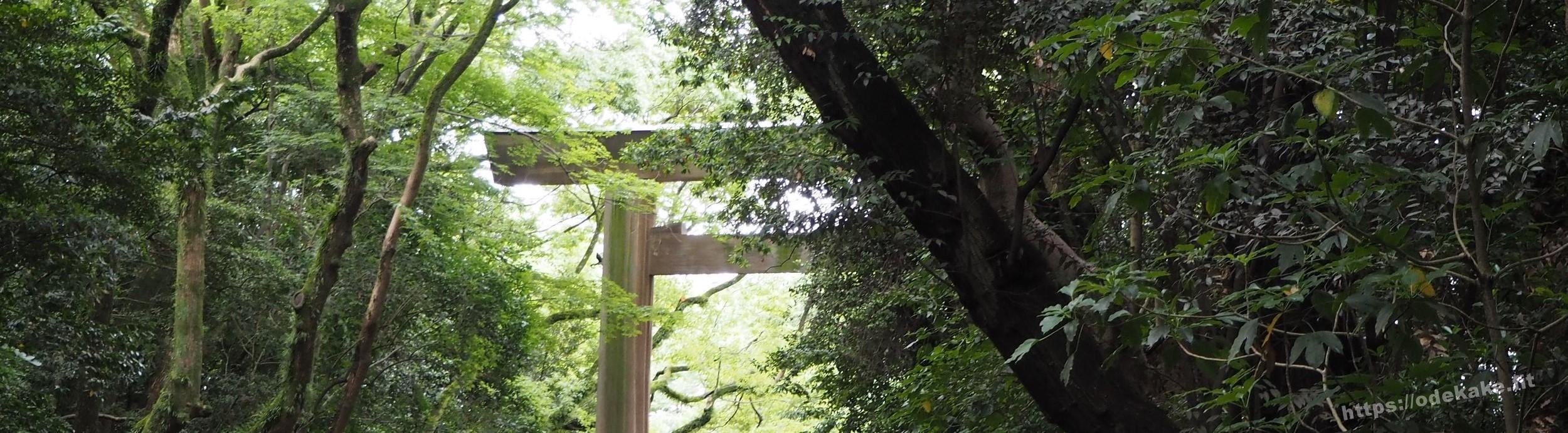 【日帰り名古屋】梅雨時の熱田神宮へお参り。神秘の森の写真集