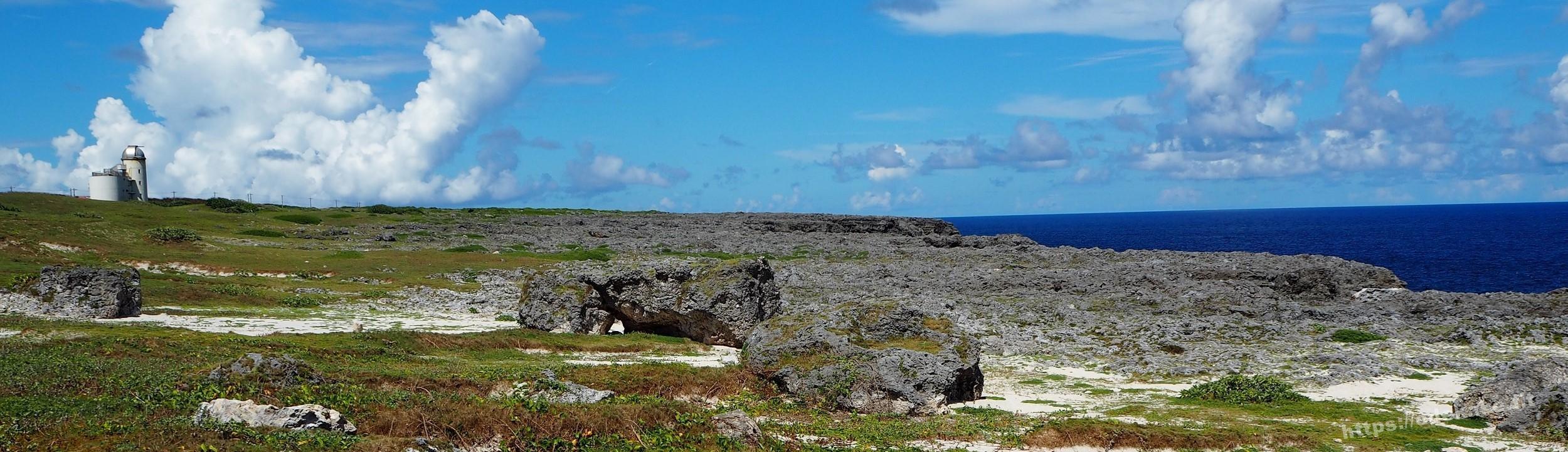 【波照間島8】日本最南端の碑に到達!!そして高那崎の断崖絶壁が絶景