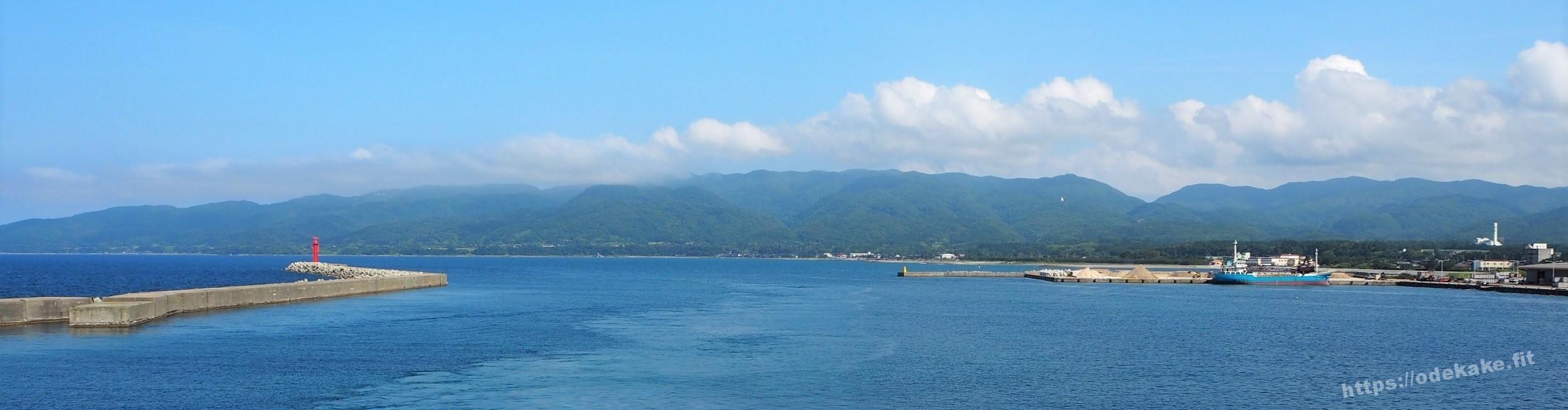【佐渡】佐渡汽船ときわ丸での写真集☆カモメと共に佐渡島へ