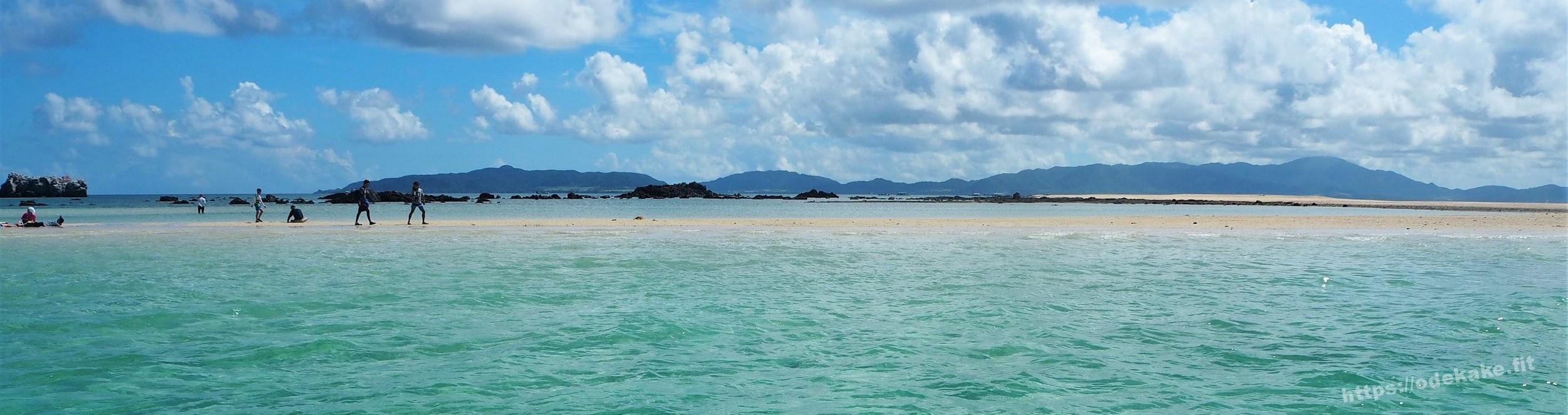 【石垣沖】幻の島(浜島)に上陸!海上に浮かぶビーチ