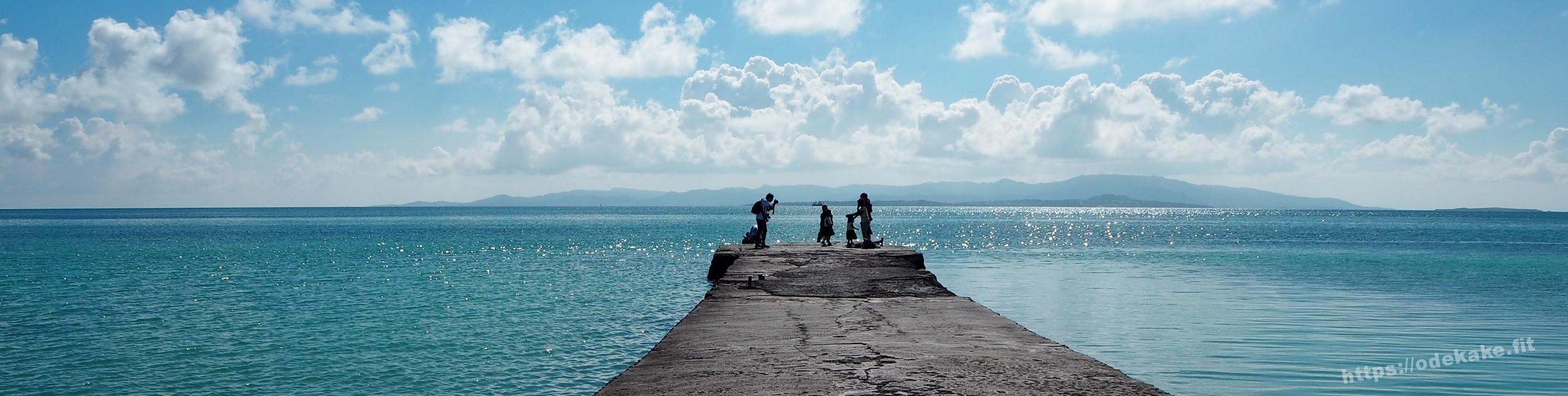【竹富島3】かき氷の「ひまわり」で再度まったり♪夕方の西桟橋を下見♪